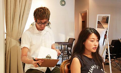 髪質診断(カウンセリング)