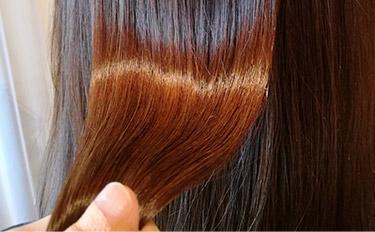 ツヤ髪カラー